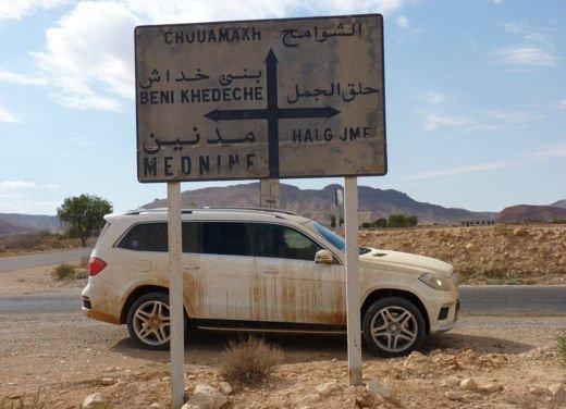 Test drive in Tunisia con la gamma SUV Mercedes - Foto 2 di 30