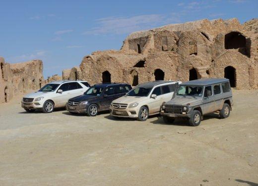 Test drive in Tunisia con la gamma SUV Mercedes - Foto 20 di 30