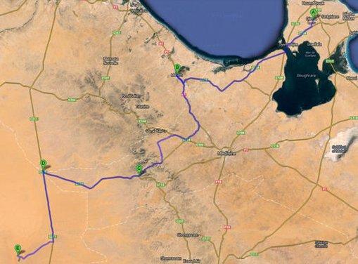Test drive in Tunisia con la gamma SUV Mercedes - Foto 3 di 30