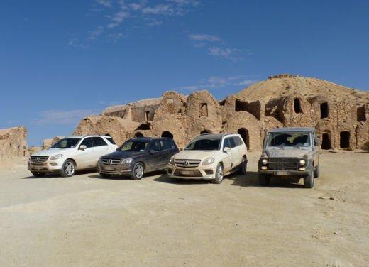 Test drive in Tunisia con la gamma SUV Mercedes - Foto 1 di 30