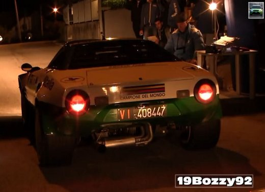 Lancia Stratos, il sound del motore V6 in un video - Foto 4 di 12