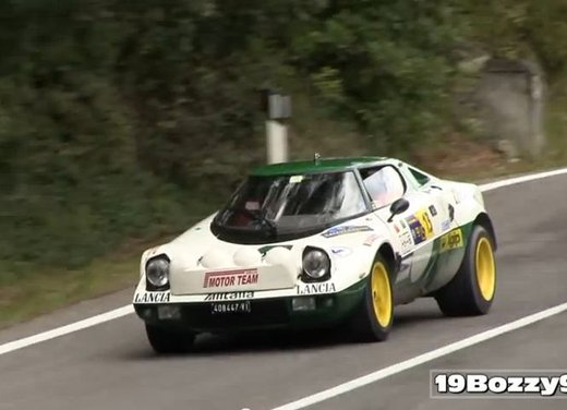 Lancia Stratos, il sound del motore V6 in un video - Foto 8 di 12