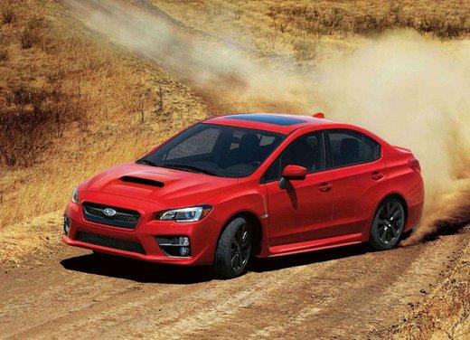 Nuova Subaru WRX