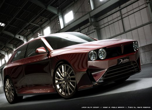 Lancia Delta Concept - Foto 18 di 21