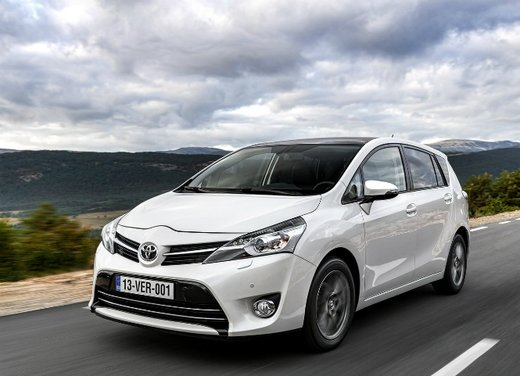 Toyota Verso nuovo motore 1.6 D-4D