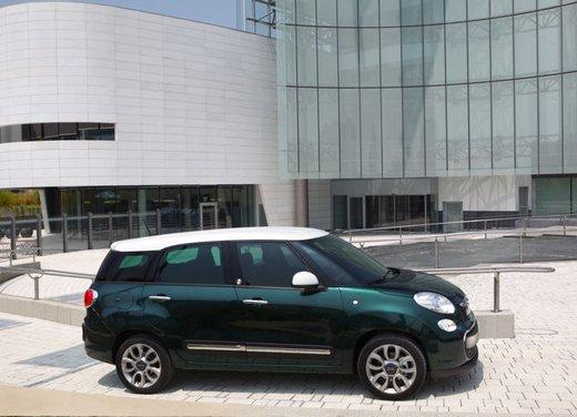 Fiat 500L, 500L Trekking e 500L Living con nuovo motore 1.4 T-Jet Turbo 120 CV