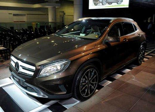 Mercedes GLA presentata a Bologna al Mercedes-Benz Show - Foto 2 di 18