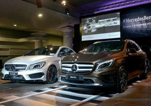 Mercedes GLA presentata a Bologna al Mercedes-Benz Show - Foto 1 di 18