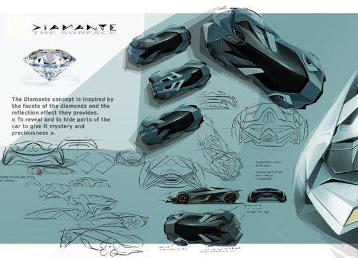 Lamborghini Diamante Concept - Foto 11 di 21
