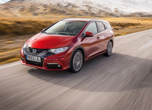 Honda Civic Tourer Test Drive