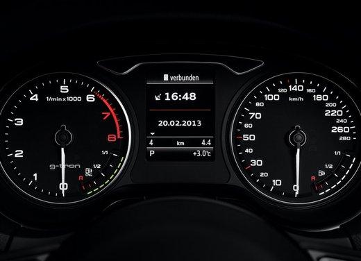 Audi A3 Sportback g-tron con tecnologia ibrida benzina-metano - Foto 5 di 9