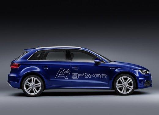 Audi A3 Sportback g-tron con tecnologia ibrida benzina-metano - Foto 8 di 9