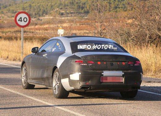 Mercedes Classe S Coupè nuove foto spia - Foto 15 di 18