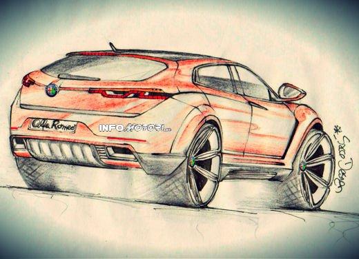 Alfa Romeo SportOver Concept, il Suv Alfa secondo un nostro lettore - Foto 2 di 6