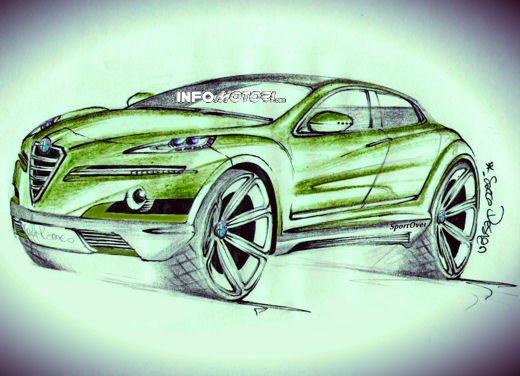 Alfa Romeo SportOver Concept, il Suv Alfa secondo un nostro lettore - Foto 5 di 6