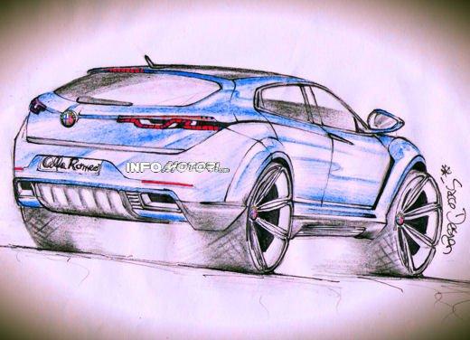 Alfa Romeo SportOver Concept, il Suv Alfa secondo un nostro lettore - Foto 4 di 6