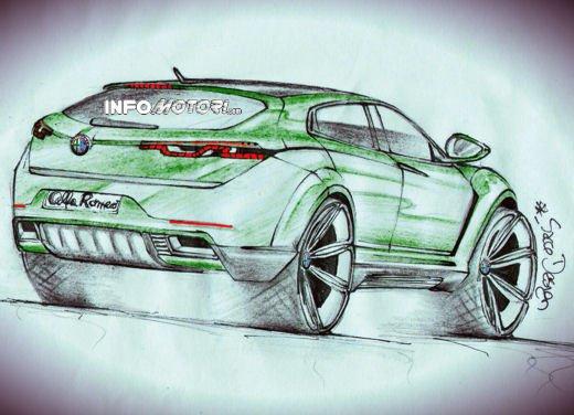 Alfa Romeo SportOver Concept, il Suv Alfa secondo un nostro lettore - Foto 6 di 6