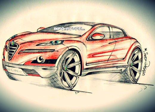 Alfa Romeo SportOver Concept, il Suv Alfa secondo un nostro lettore - Foto 1 di 6