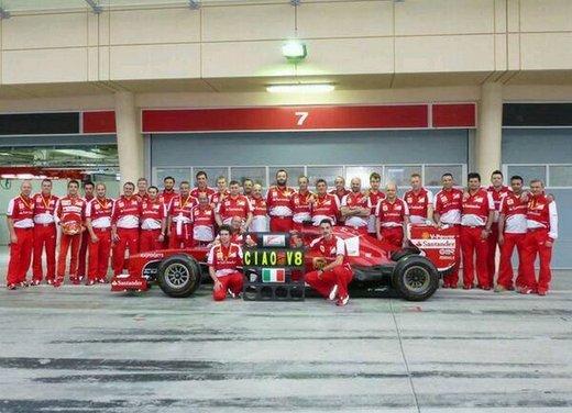 Nuovo motore V6 Turbo Ferrari per la stagione 2014 di Formula 1