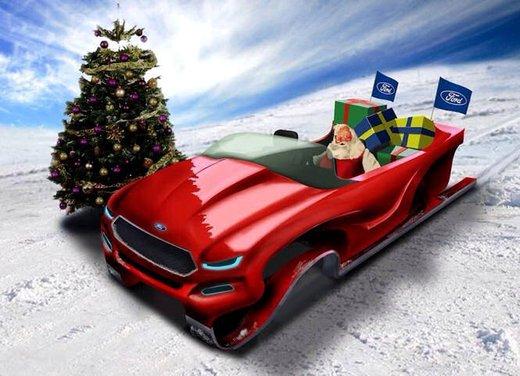 Babbo Natale 8 Gallery.Le Auto Piu Strane Di Babbo Natale Infomotori