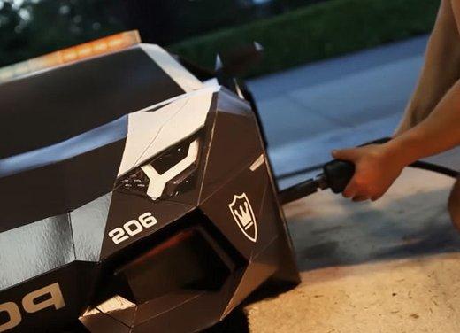 Lamborghini Aventador in cartone ecco il video di come è stata creata - Foto 2 di 18