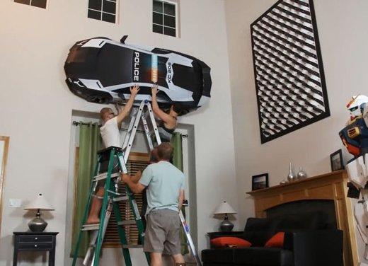 Lamborghini Aventador in cartone ecco il video di come è stata creata - Foto 3 di 18
