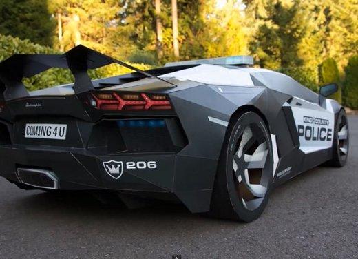 Lamborghini Aventador in cartone ecco il video di come è stata creata - Foto 6 di 18