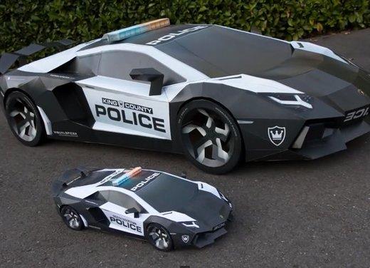 Lamborghini Aventador in cartone ecco il video di come è stata creata - Foto 8 di 18
