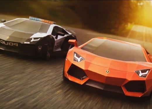 Lamborghini Aventador in cartone ecco il video di come è stata creata - Foto 9 di 18