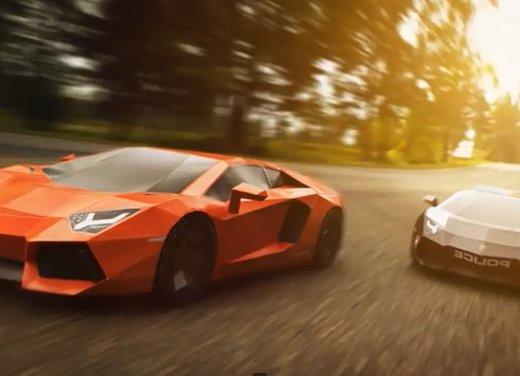 Lamborghini Aventador in cartone ecco il video di come è stata creata - Foto 1 di 18