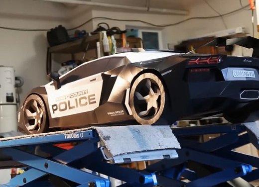 Lamborghini Aventador in cartone ecco il video di come è stata creata - Foto 18 di 18