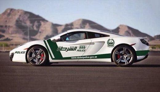 McLaren MP4-12C, la nuova supercar in dotazione alla polizia di Dubai