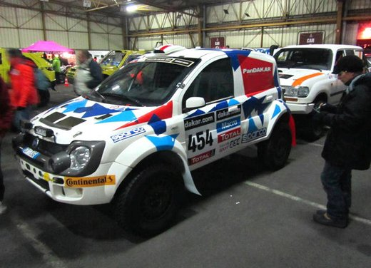 Fiat Panda Cross la vettura più piccola che partecipa alla Dakar 2014 - Foto 1 di 3