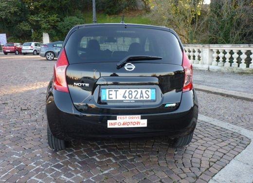 Nissan Note Tekna 1.5 dCi 90 CV long test drive - Foto 8 di 20