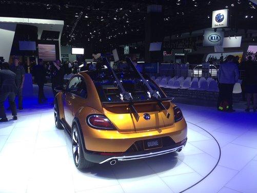 Volkswagen New Beetle Dune Concept - Foto 2 di 9