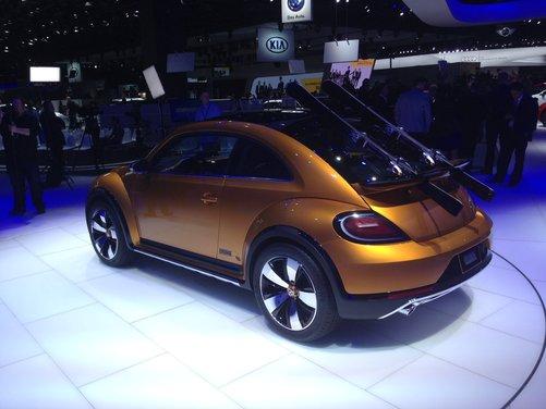 Volkswagen New Beetle Dune Concept - Foto 3 di 9