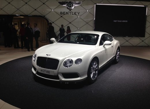 Bentley Continental GT V8 S - Foto 4 di 11