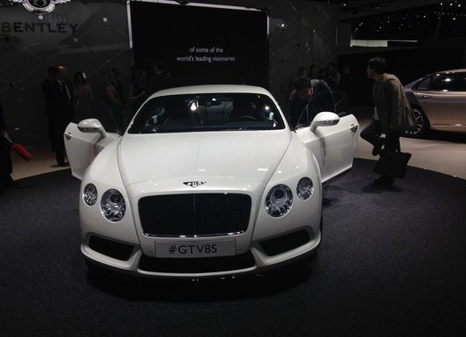 Bentley Continental GT V8 S - Foto 9 di 11