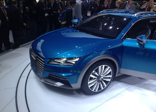 Audi Allroad Shooting Brake Concept - Foto 13 di 14