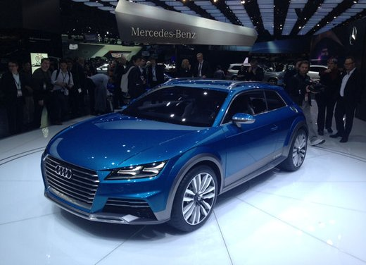 Audi Allroad Shooting Brake Concept - Foto 2 di 14