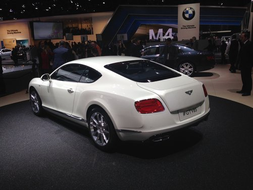 Bentley Continental GT V8 S - Foto 8 di 11