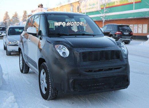 Jeep e Fiat, foto spia del B-Suv prodotto a Melfi - Foto 11 di 14