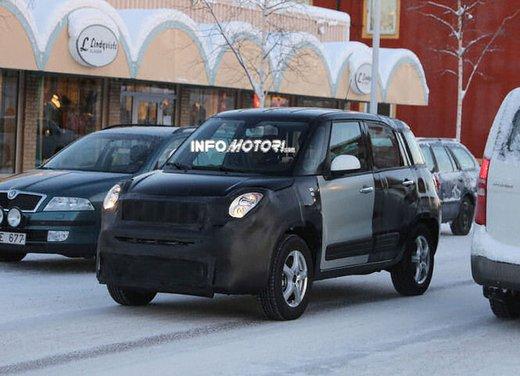 Jeep e Fiat, foto spia del B-Suv prodotto a Melfi - Foto 1 di 14