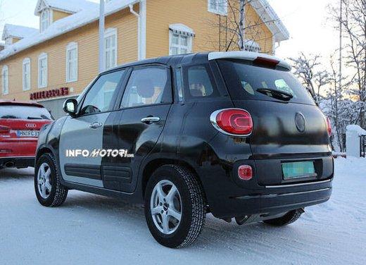 Jeep e Fiat, foto spia del B-Suv prodotto a Melfi - Foto 3 di 14