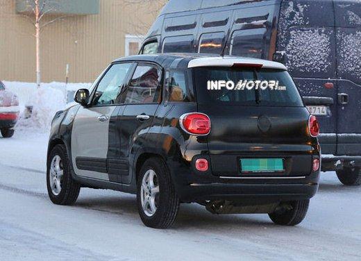 Jeep e Fiat, foto spia del B-Suv prodotto a Melfi - Foto 8 di 14