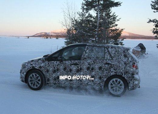 BMW Serie 2 Active Tourer nuove foto spia - Foto 7 di 7