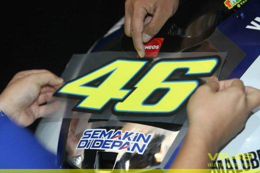 Valentino Rossi, presentazione della nuova Yamaha M1 a Jakarta - Foto 7 di 11