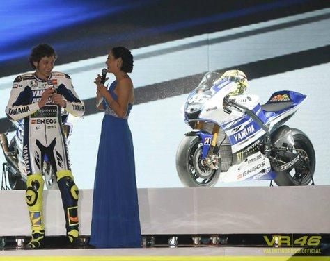 Valentino Rossi, presentazione della nuova Yamaha M1 a Jakarta - Foto 2 di 11