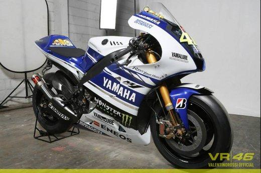 Valentino Rossi, presentazione della nuova Yamaha M1 a Jakarta - Foto 5 di 11