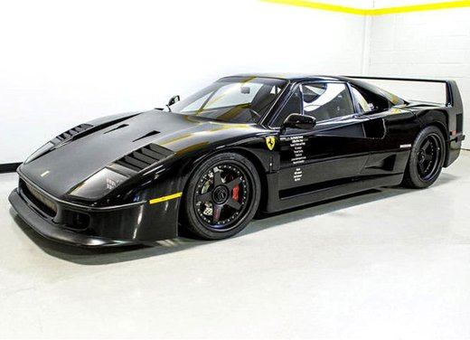 Ferrari F40 by Gas Monkey Garage venduta all'asta - Foto 1 di 6